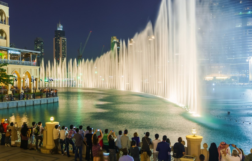 The best Dubai tourist attractions: The Dubai Fountain